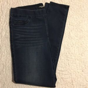 Nine West Skinny Pull On Stretch jeans EUC